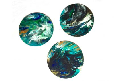 Wild Sea Triptych