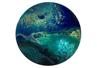 SOLD Blue Planet 3  12""