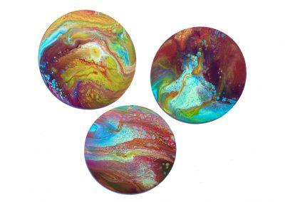 Sunspots triptych